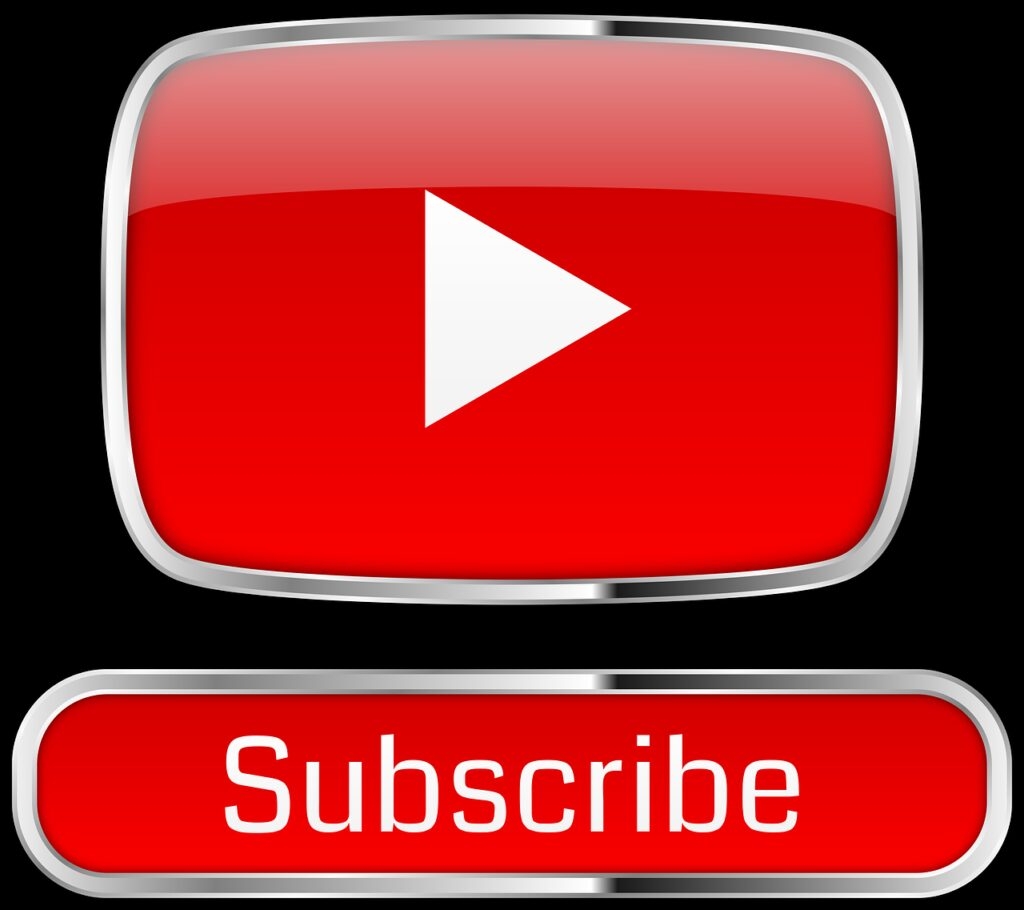 youtube, subscribe, icon